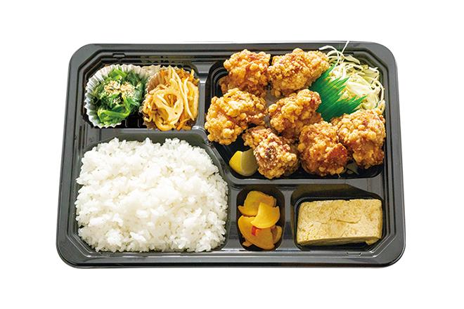 ● 鶏もも唐揚げ弁当 大盛(7個)