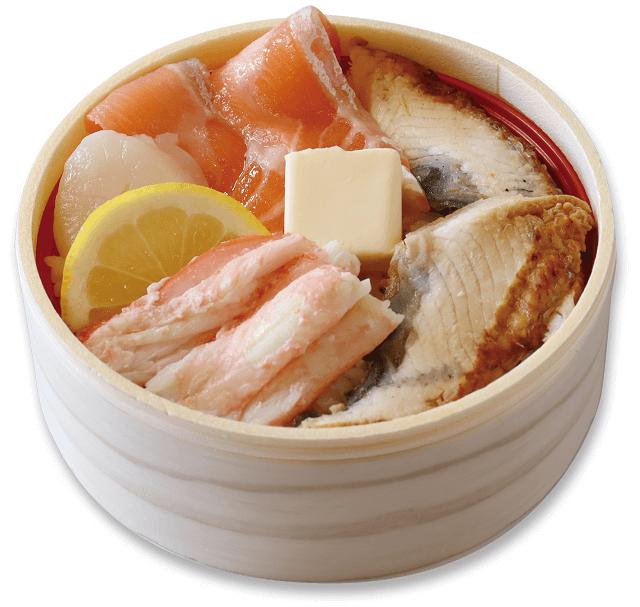 海鮮わっぱ丼
