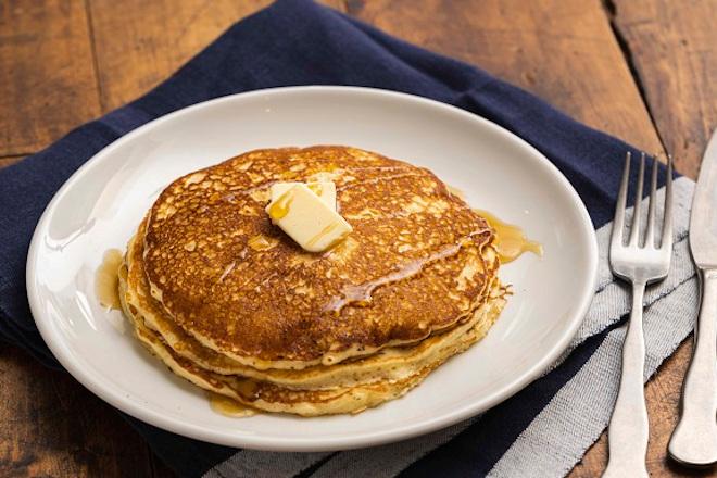 オーガニック小麦を使った パンケーキ(3枚)