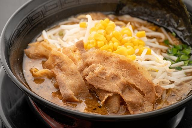 肉盛りみそラーメン Miso Ramen (Extra Meat)