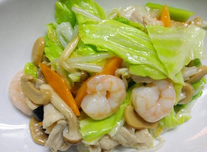 エビ肉野菜炒め