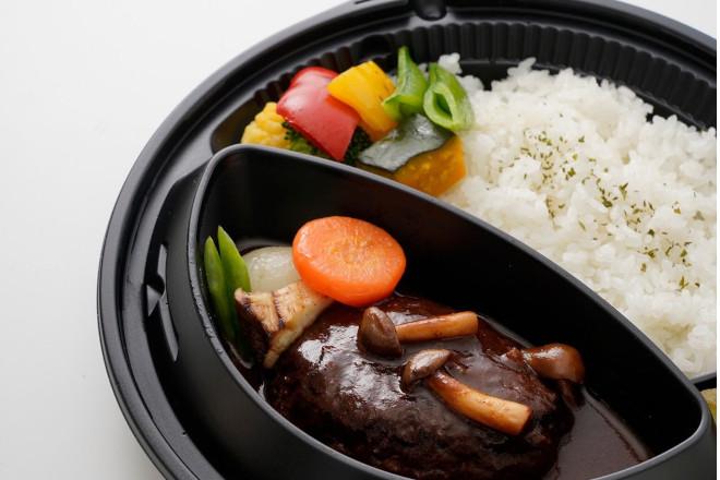 松阪牛のデミグラスハンバーグ弁当