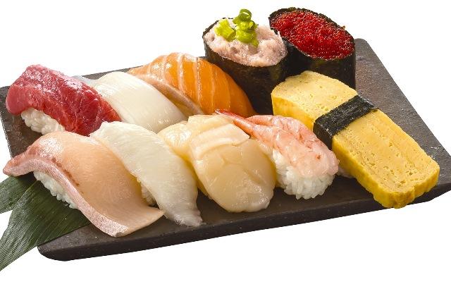 紋別一人盛り(10貫) Monbetsu Assortment for 1 (10 Pieces)