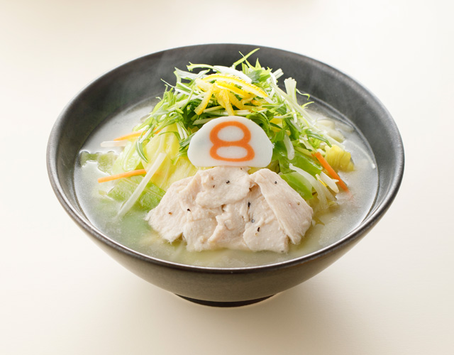 【期間限定】野菜ゆず塩らーめん