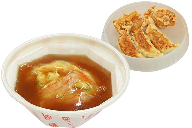 天津飯弁当