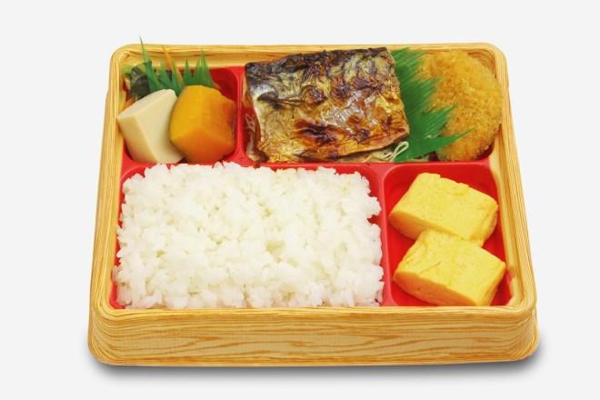 【期間限定価格!】サバ塩焼き弁当 (1/31まで)