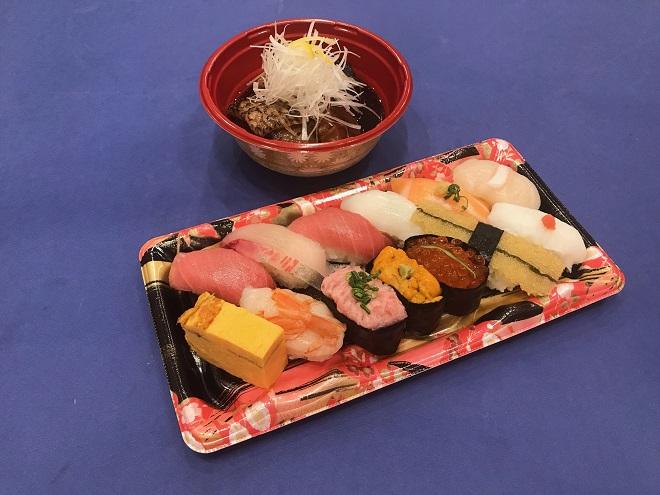 【100円割引】涼風(1人前)とメロカマ煮付