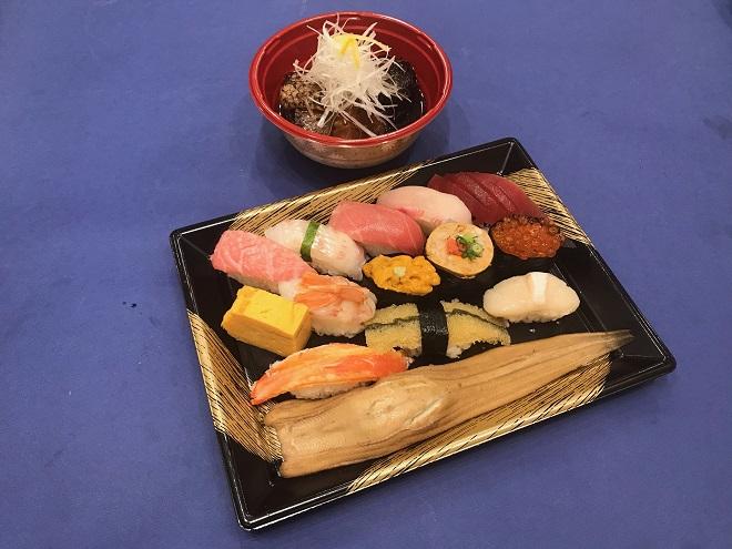 【100円割引】輝(1人前)とメロカマ煮