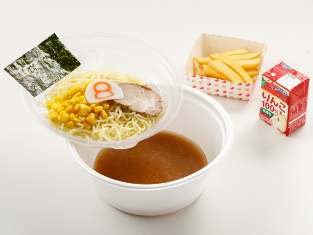 お子様らーめんセット(ジュース・ポテト付き)