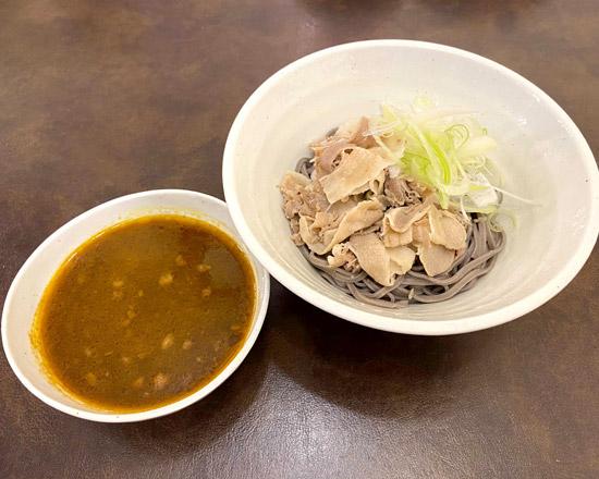 肉つけカレーそば Pork curry dipping soba noodles