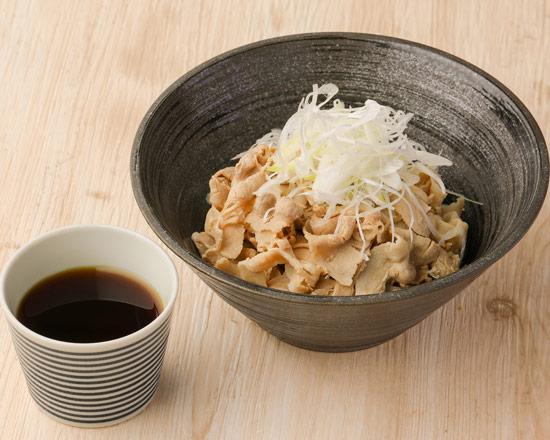 肉つけそば Pork dipping soba noodles