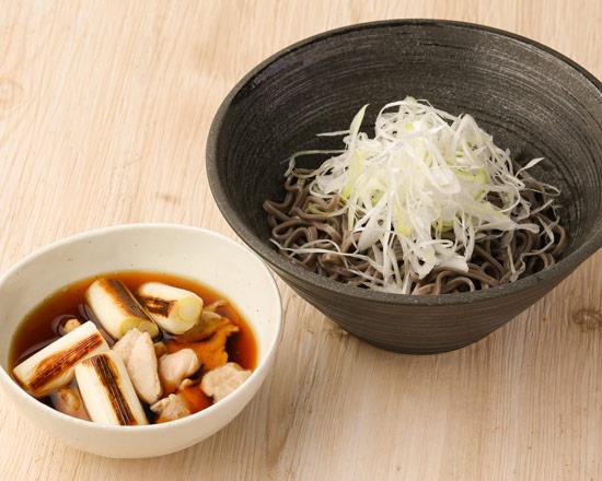 鶏つけそば Chicken dipping soba noodles