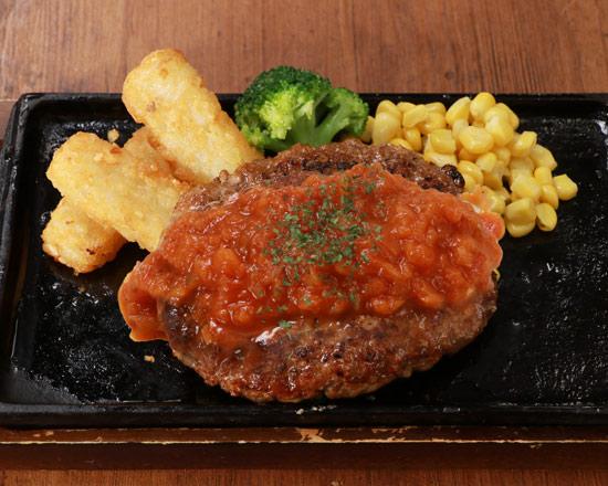 イタリアンハンバーグステーキ Italian-style hamburg steak