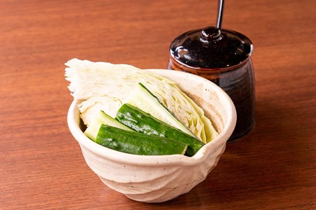 【山内農場特製味噌付】野菜盛り合せ