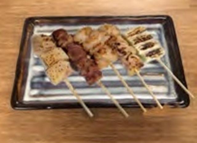 串焼盛り合せ(5種)