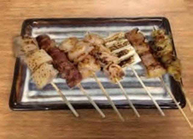 串焼盛り合せ(7種)