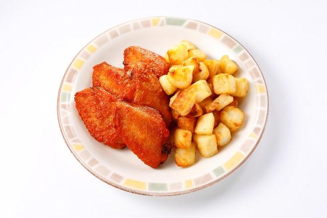 辛味チキン&カリッとポテト