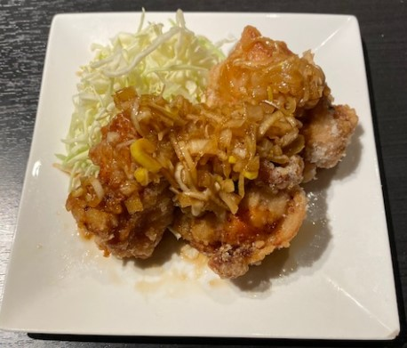 油淋鶏3個