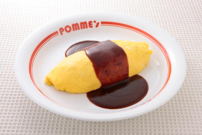 風味豊かなデミグラスソースオムライス