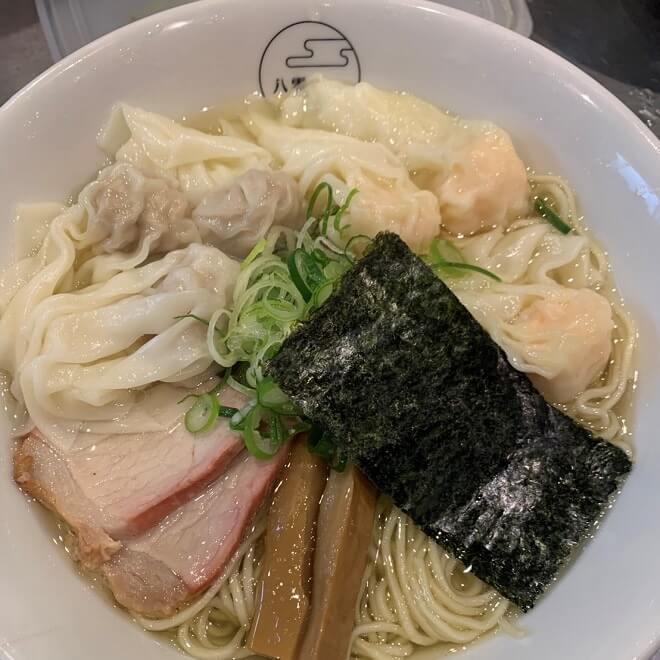 特製ワンタン麺(白)
