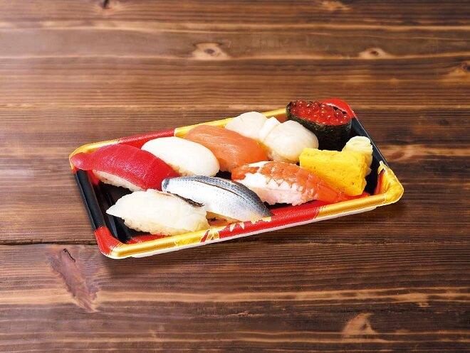 あやめ寿司(1人前)【大判竜田揚げ2個付き】