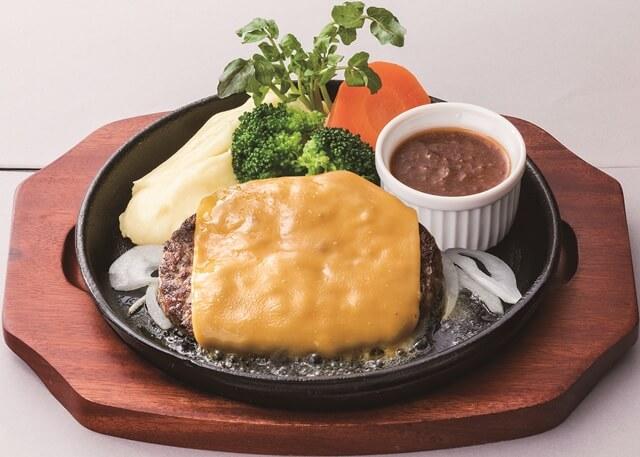 黒船チーズハンバーグ(ライスなし)