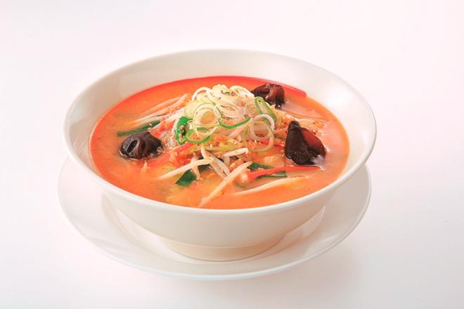 味噌味のたっぷり野菜ロカボスープ