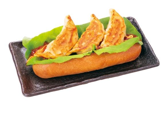 餃子ドッグ(サルサソース味)