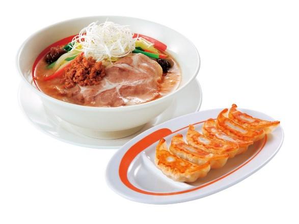 三元豚味噌らーめん・餃子セット