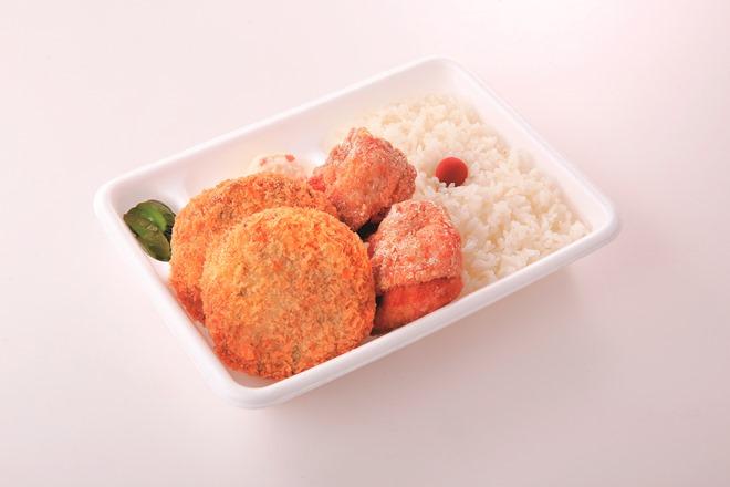 餃子メンチカツ弁当(11:00~20:00の販売)