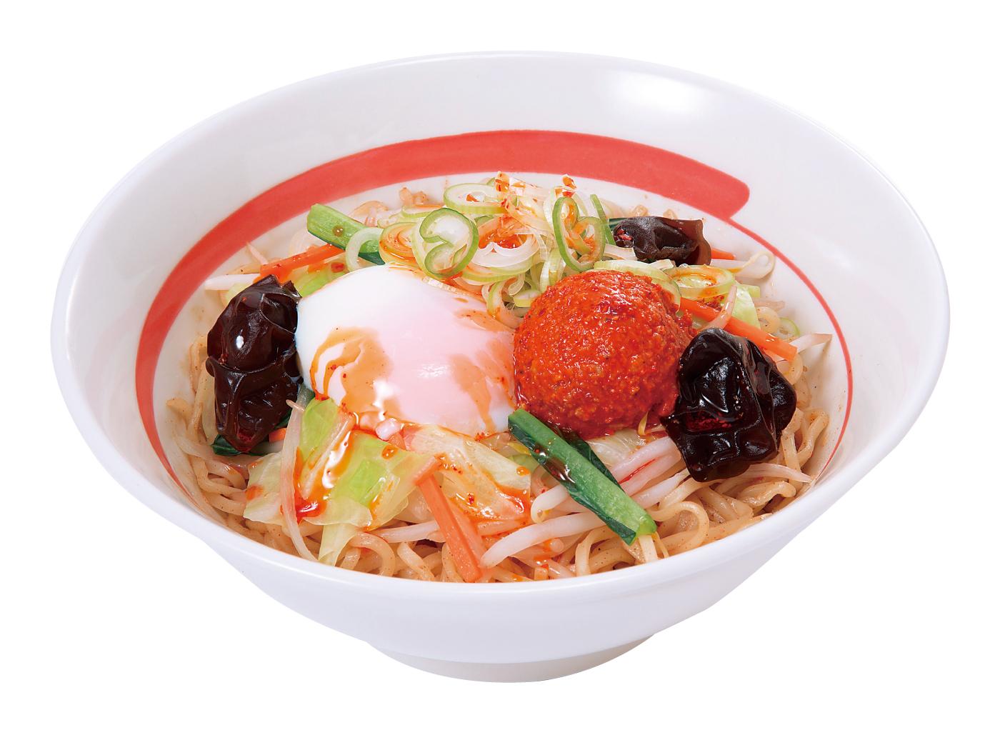【期間限定!半熟煮卵プレゼント中】台湾野菜まぜめん(ピリ辛)