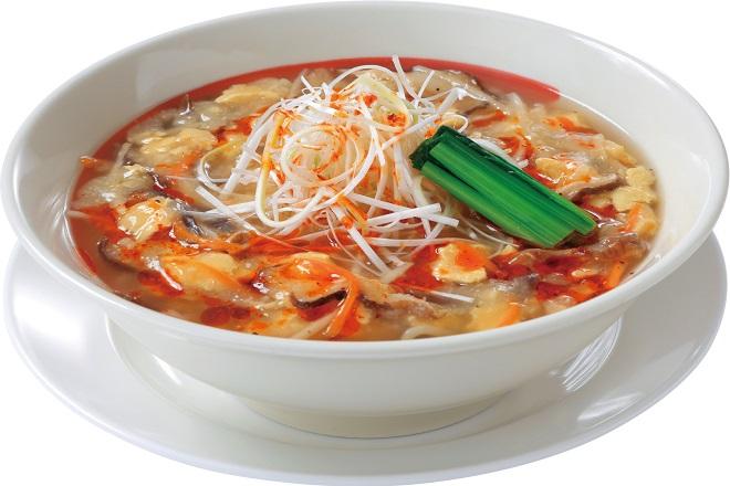 酸辣湯麺(塩味)