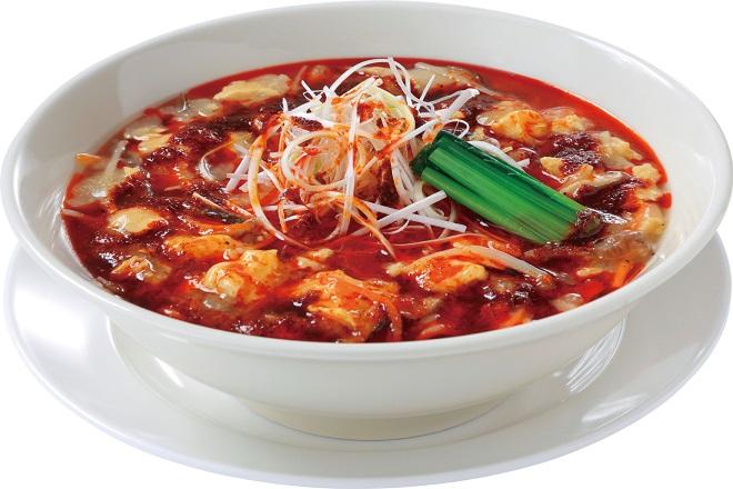激辛酸辣湯麺(塩味)