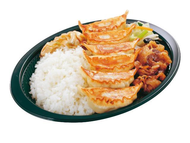 牛カルビ・餃子弁当ドリンクセット