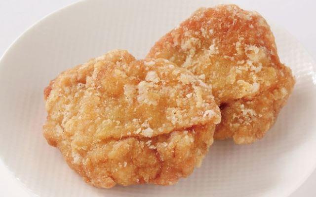 からあげ(塩味)+ポテトセット(10:45~20:00の販売)
