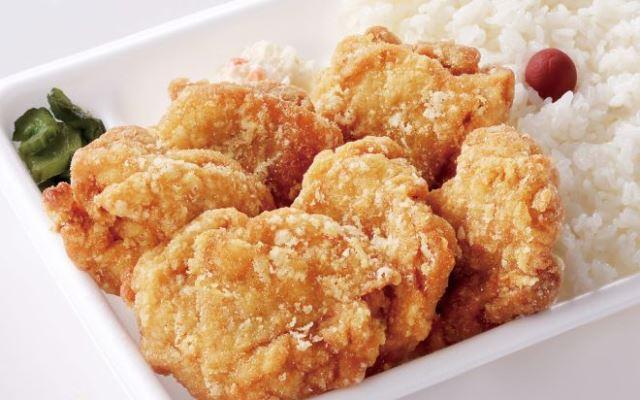 からあげ弁当(塩味)(10:45~20:00の販売)