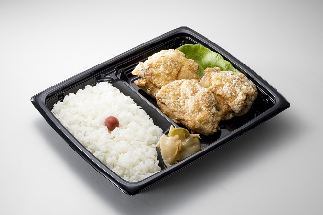 からあげ弁当(塩味)(11:00~20:00の販売)