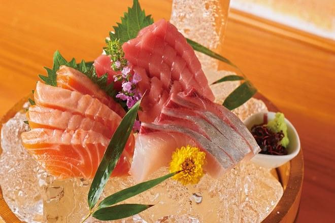 【市場直送】鮮魚のお造り三品盛り