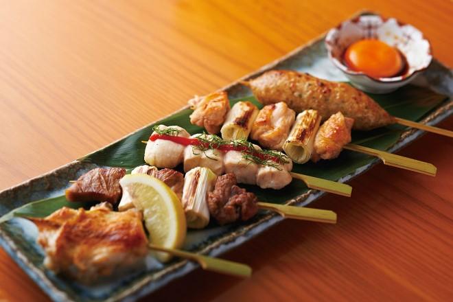 【焼き鳥】国産鶏の串焼き5本盛り