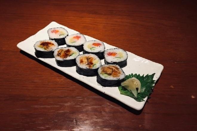 寿司大黒天盛り《海鮮太巻きとザンギ太巻き》