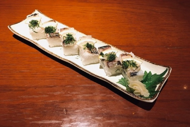 寿司寿老人《焼きさば押し寿司》