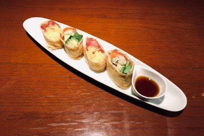 寿司布袋盛リ《海鮮いなり寿司》