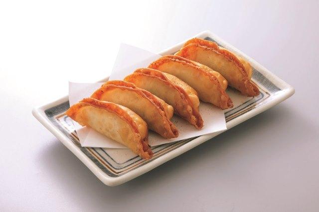 新名物! 肉汁餃子(揚げ)