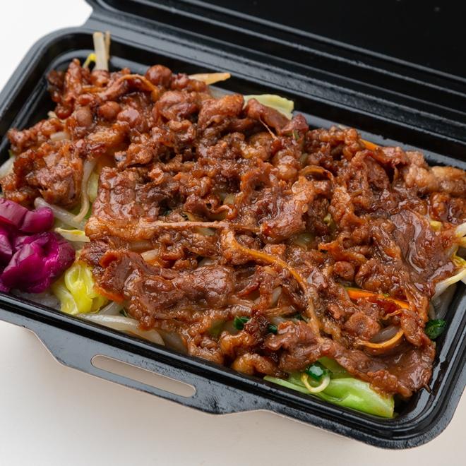 野菜たっぷりビーフ焼肉丼弁当