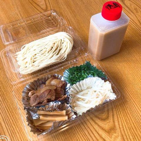お家で作る徳島ラーメン(卵抜き)