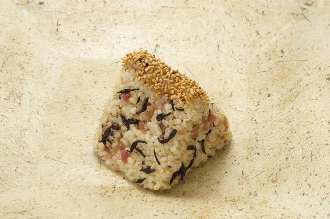 梅ひじき玄米