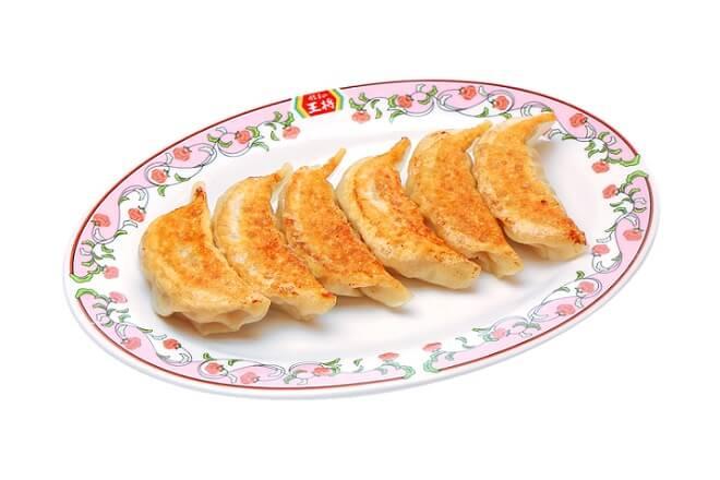 にんにくゼロ生姜餃子(焼き、1人前:6ヶ)