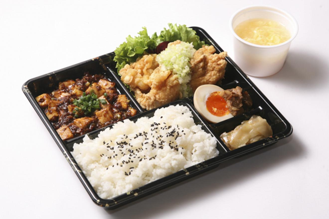 【平日ランチ限定】ボリューム弁当(麻婆豆腐)