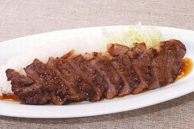 肉の中のエース サーロインステーキ丼