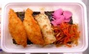 【10/1受取限定・9/28注文締切】白身魚&海苔弁当